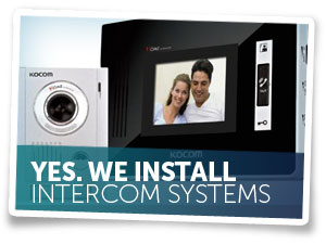 We Install Intercom Systems
