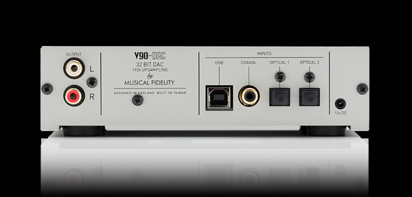 Fidelity Warranty Services >> Musical Fidelity V-90DAC Upsampling DAC - Hi-Fi at Vision ...