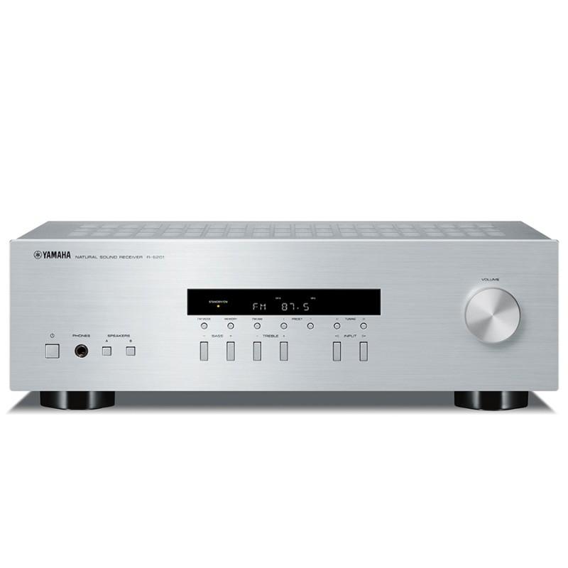 yamaha r s201 stereo am fm receiver hi fi at vision living. Black Bedroom Furniture Sets. Home Design Ideas