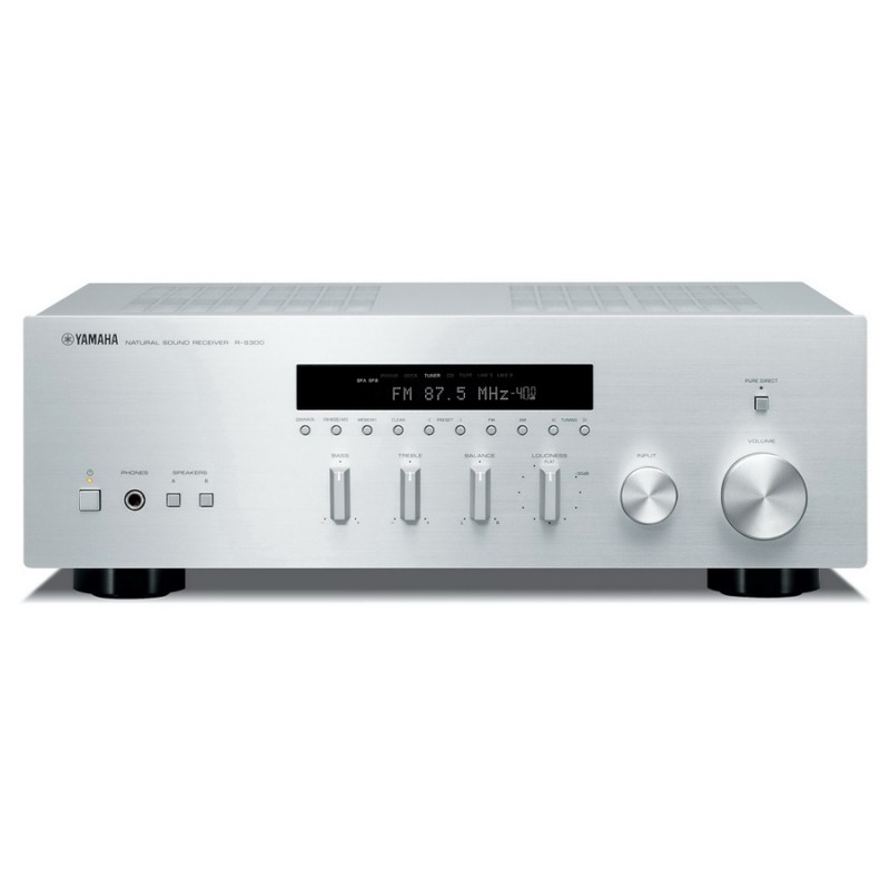 yamaha r s300 stereo am fm receiver hi fi at vision living. Black Bedroom Furniture Sets. Home Design Ideas