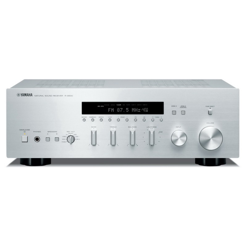 yamaha r s500 stereo am fm receiver hi fi at vision living. Black Bedroom Furniture Sets. Home Design Ideas