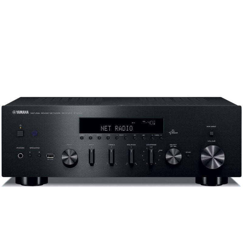 yamaha r n500 networking internet radio am fm stereo
