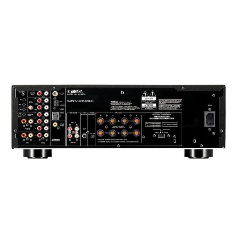 yamaha r s700 am fm stereo receiver hi fi at vision living. Black Bedroom Furniture Sets. Home Design Ideas