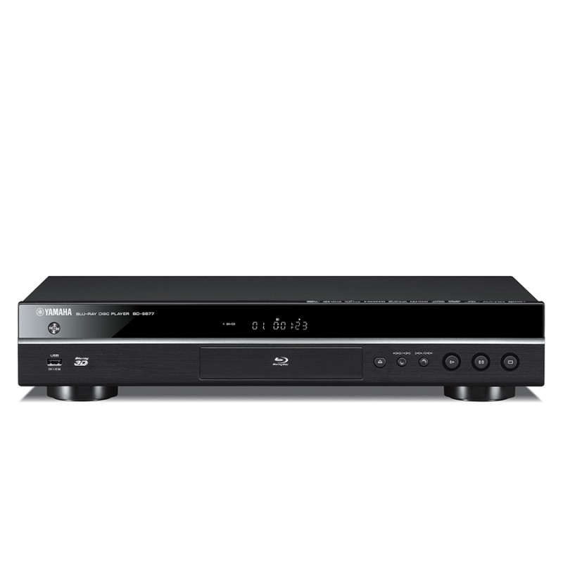 yamaha bd s677 blu ray dvd player home cinema at vision. Black Bedroom Furniture Sets. Home Design Ideas