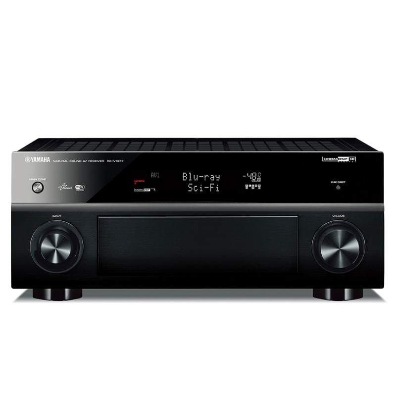 Yamaha rxv 1077 7 2 channel home theatre receiver home for Yamaha 7 2 home theatre system