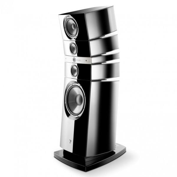 focal grande utopia em floor stand speaker speakers at vision living. Black Bedroom Furniture Sets. Home Design Ideas