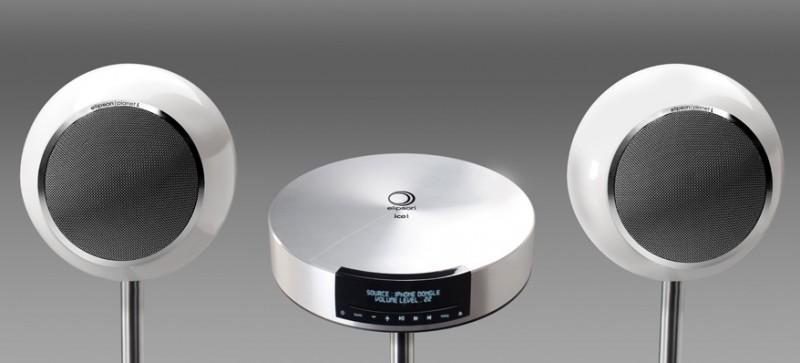 elipson planet l speaker music system hi fi at vision living. Black Bedroom Furniture Sets. Home Design Ideas