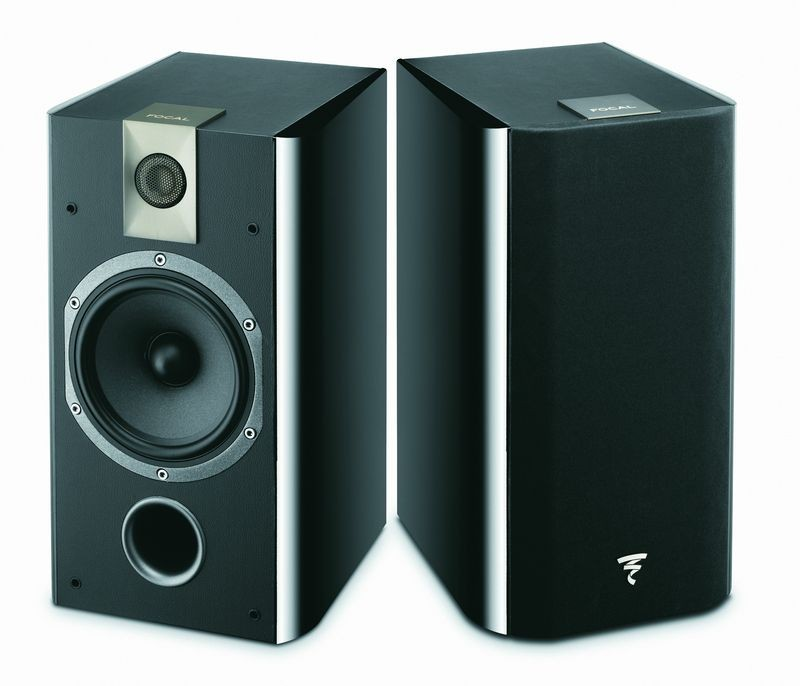 focal chorus 706 gloss black speakers at vision living. Black Bedroom Furniture Sets. Home Design Ideas