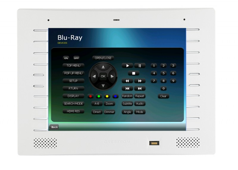 Crestron Tpmc8l Touch Screen Control At Vision Living