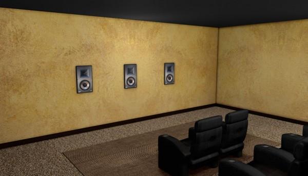 wiring speakers behind walls example electrical wiring diagram u2022 rh cranejapan co Speaker Cabinet Wiring Speaker Wire Cover for Wall