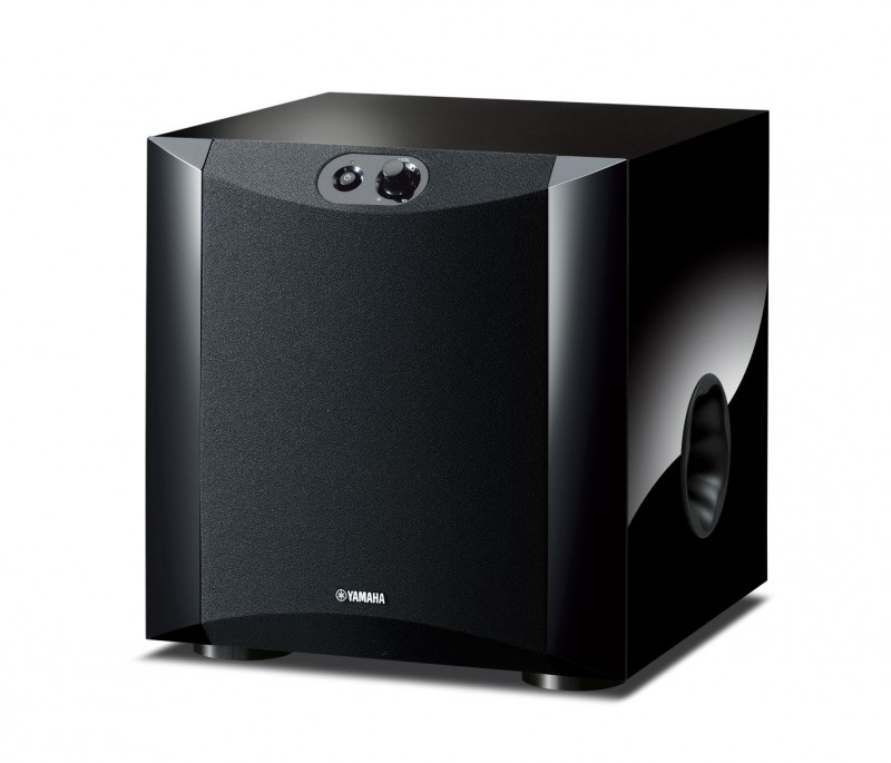 Yamaha NS-SW200BG gloss black active subwoofer