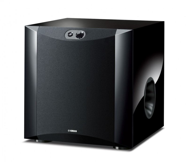Yamaha NS-SW300BG gloss black active subwoofer