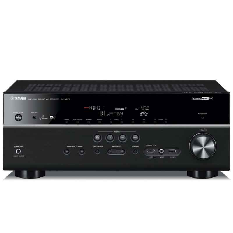 yamaha rxv 677 7 2 channel home theatre receiver home