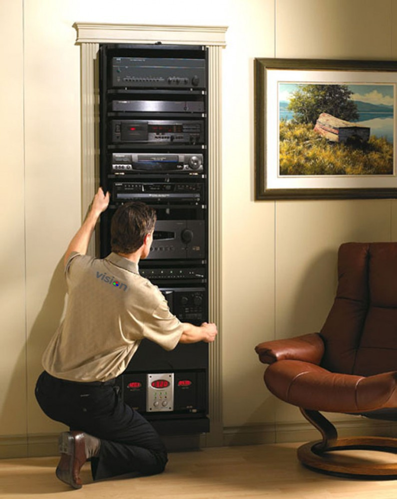 Avtrack - Home Theatre Storage Solution - Furniture at Vision Living