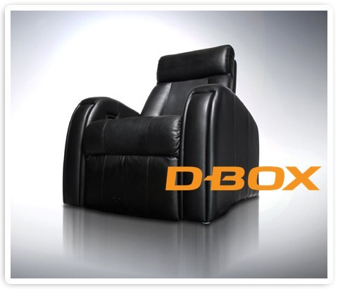 D-BOX - Single Chair (4 Actuators)