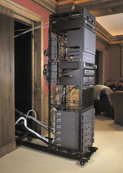 Middle Atlantic Axs Series Pull Out Av Rack Furniture