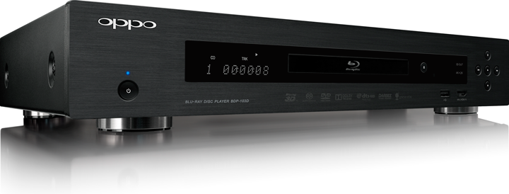 Oppo Bluray Player - BDP-103D (discontinued no longer available)