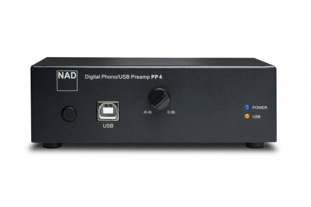 NAD PP4 digtal phono USB pre-amplifier
