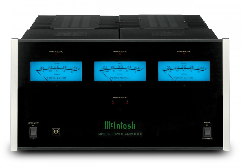 McIntosh MC205 5 channel power amplifier