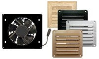 Cool Components HiFlo Vent system with white or black grill