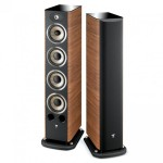Focal JM Labs Aria 936 floor stand speaker (walnut) - Ex Demo - Sold no longer available