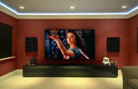 Screen Excellence SLIM AT - Fixed Flat Acoustically Transparent Projection Screen 16:9 / 1.78 - 90