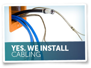 We Install Cabling