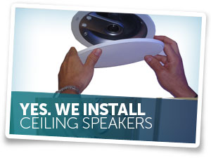 We Install Ceiling Speakers