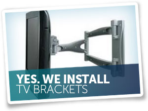 We Install TV Brackets