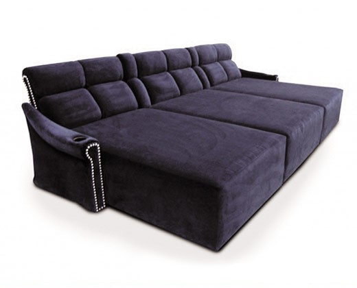 Fortress cinema seating lounges chaises furniture at for Furniture for media room